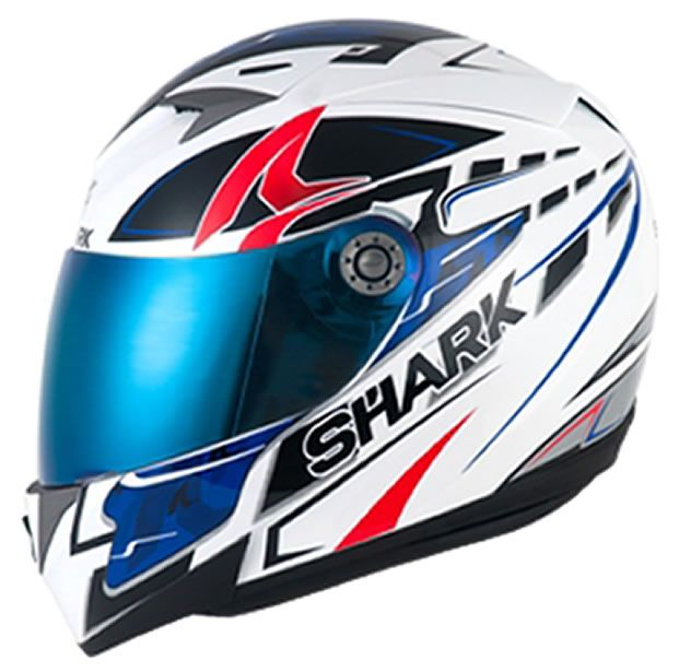 Capacete Shark S700 Stipple WBR   - Manolo Motos
