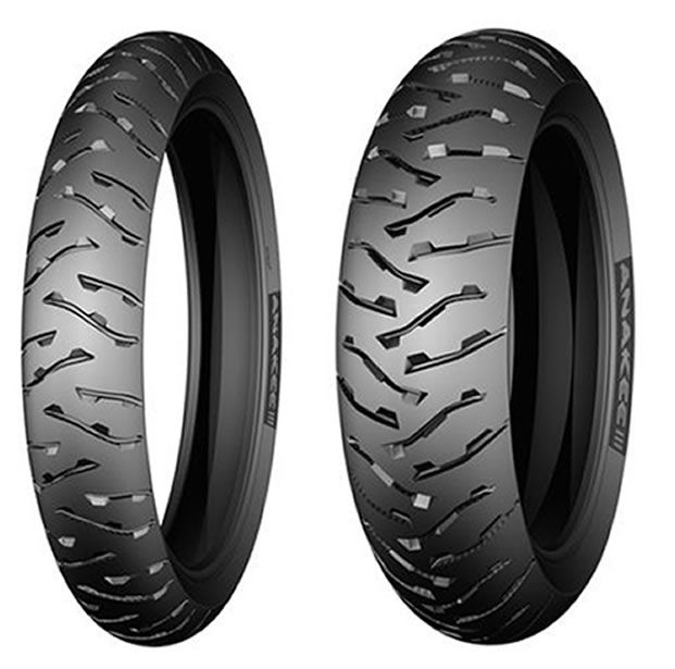Casal de Pneus Michelin Anakee 3 (110/80-19 + 150/60-17)   - Manolo Motos