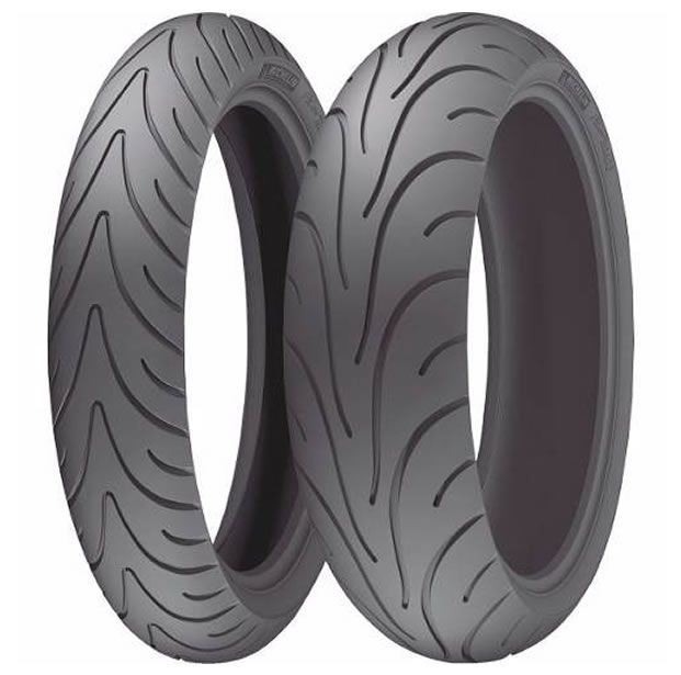 Casal de Pneus Michelin Road 2 (120/70-17 + 180/55-17)  - Manolo Motos