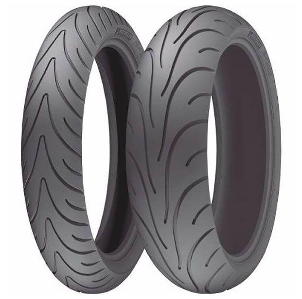 Casal de  Pneus Michelin Road 2 (120/70-17 | 190/50-17)  - Manolo Motos