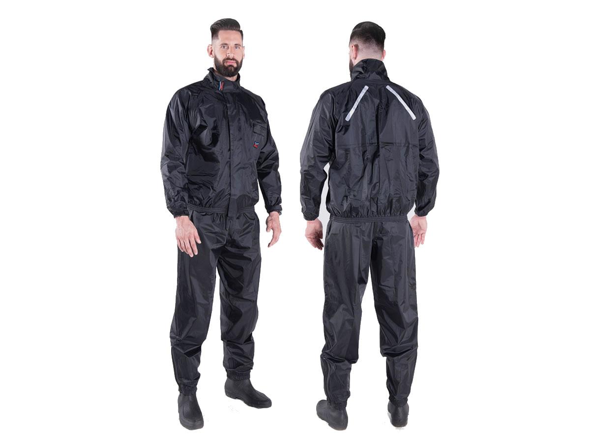 Conjunto De Chuva Piracapas Confort Nylon Masculino  - Manolo Motos
