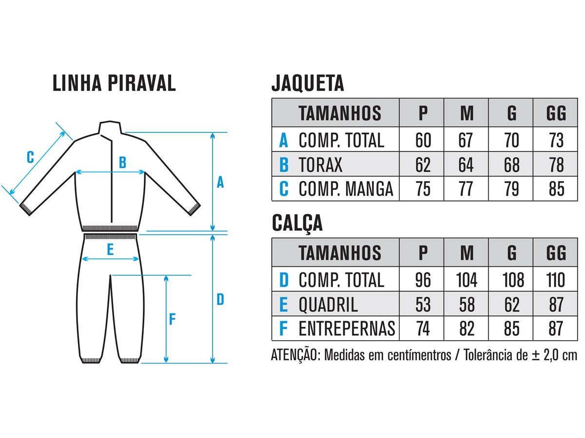 Conjunto De Chuva Pvc Piracapas Aval Masculino  - Manolo Motos