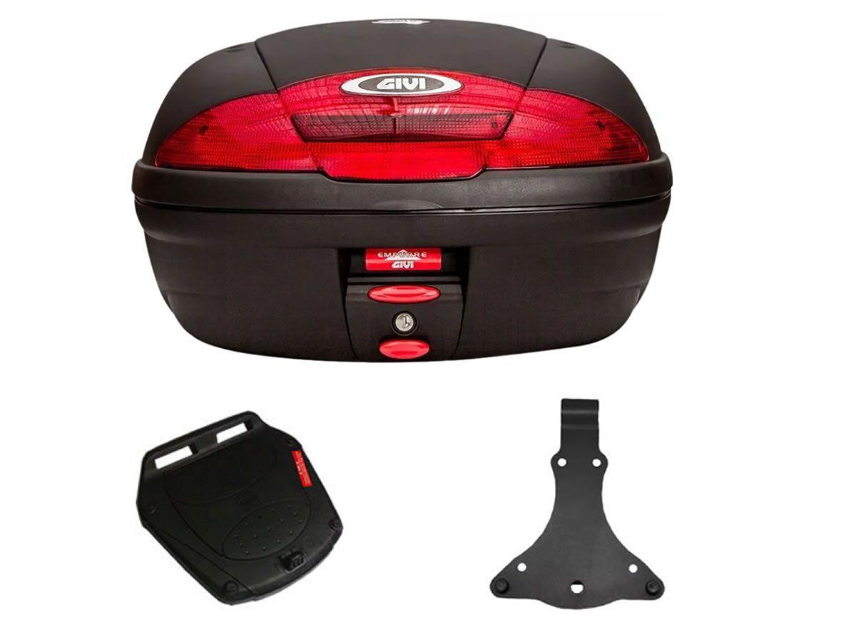 Baú E450N +bagageiro GIVI SH 300I  - Manolo Motos