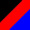 Preto/Vermelho/Azul