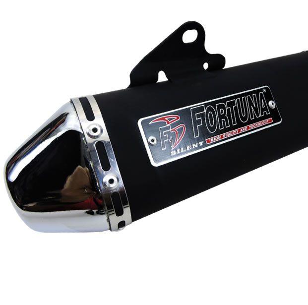 Escapamento Fortuna F1 Mini Tri YBR 125 Factor  - Manolo Motos