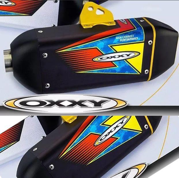 Escapamento Oxxy  esportivo Alumínio  CRF 230 2007 a 2018  - Manolo Motos