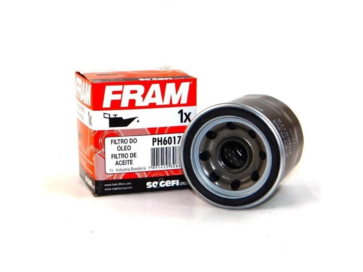 Filtro de óleo Fram (PH6017) CB 500/CBX 750/HORNET/XJ6/CBR 600/TIGER 800  - Manolo Motos