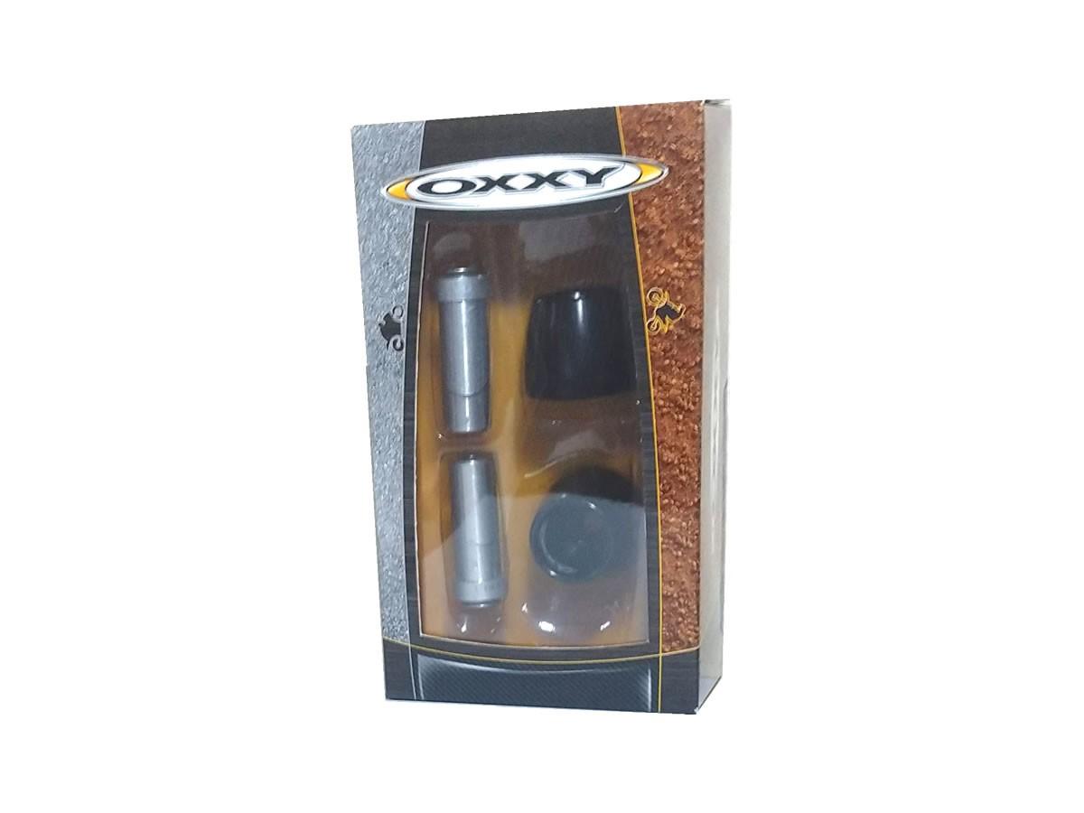 Guidão moto Oxxy Super Fat Bar ALTO + Adaptador + Peso  - Manolo Motos