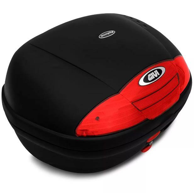 Baú E450N + bagageiro GIVI Fazer 150 2014 a 2020  - Manolo Motos
