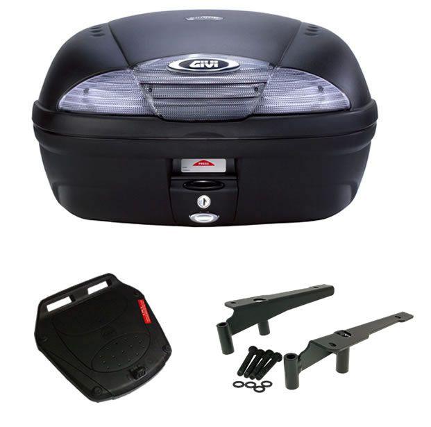 Baú E450NT + bagageiro GIVI PCX 125/ PCX 150  - Manolo Motos
