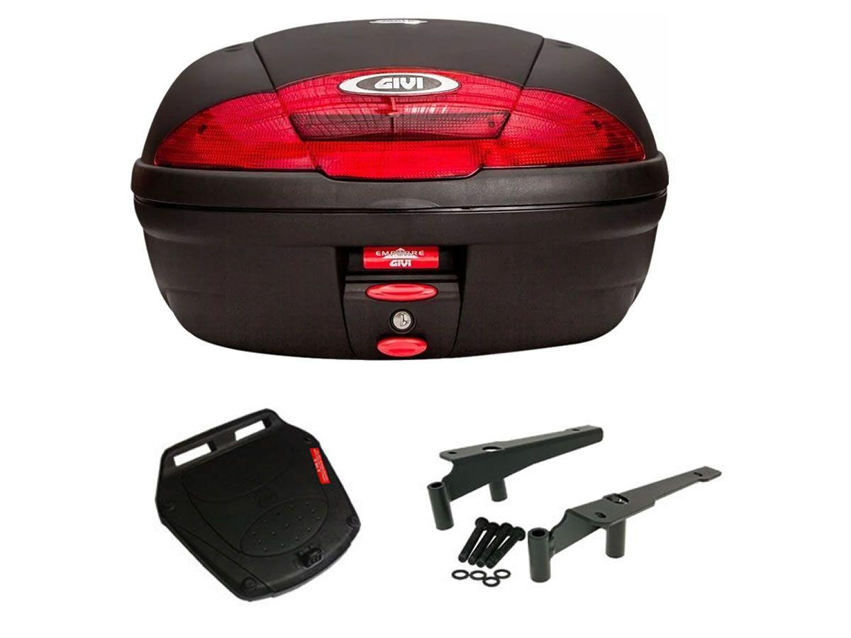 Baú E450N + bagageiro GIVI PCX 125/ PCX 150  - Manolo Motos