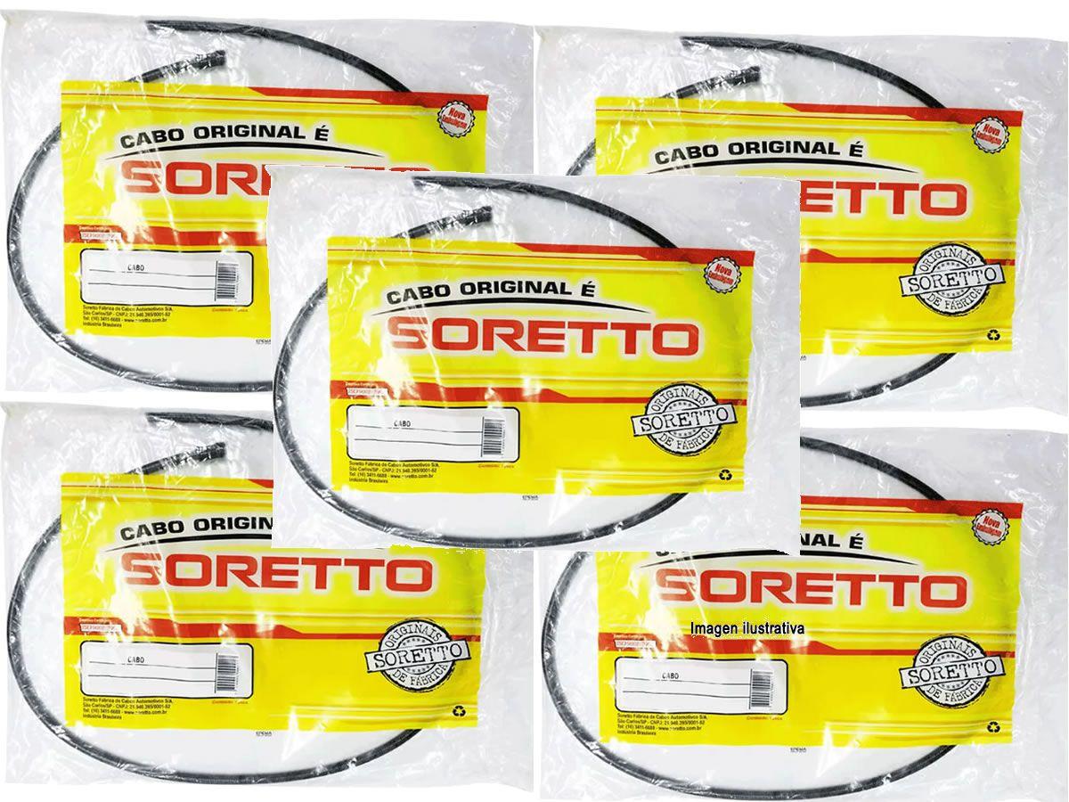 Kit de cabos originais soretto CBR 450  - Manolo Motos