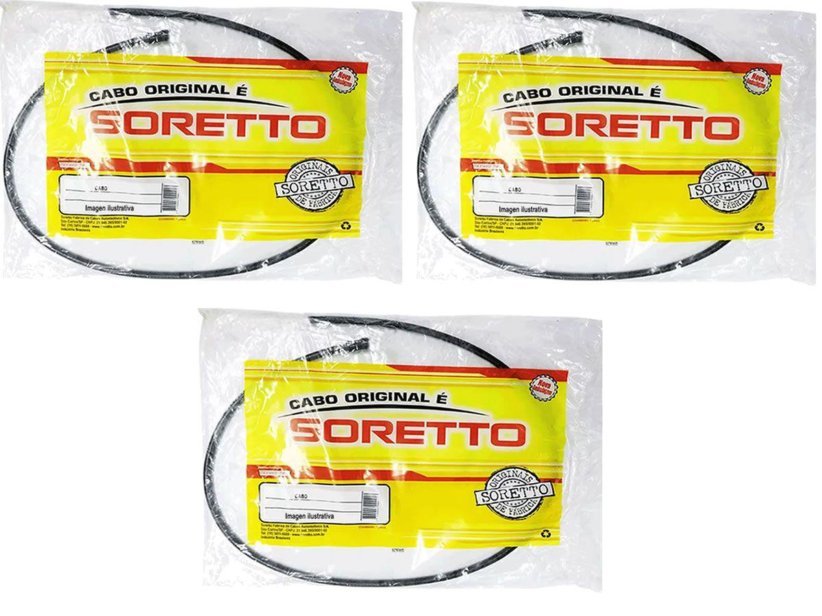 Kit de cabos originais soretto CB 300 2009 a 2015  - Manolo Motos
