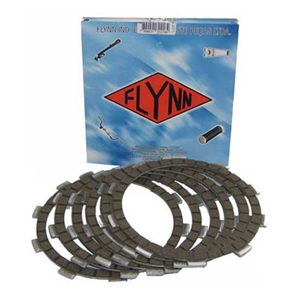 Kit Disco de Embreagem Flynn DT 200/ DT 200R  - Manolo Motos