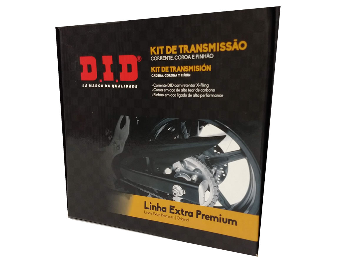 Kit relação DID completo extra premium com retentor NC 750x  - Manolo Motos