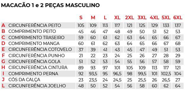 Macacão Texx Spirit 2 Peças (preto)  - Manolo Motos