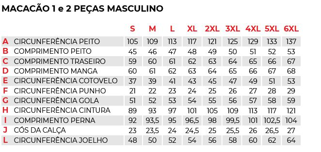 Macacão Texx Spirit 2 Peças (vermelho)  - Manolo Motos
