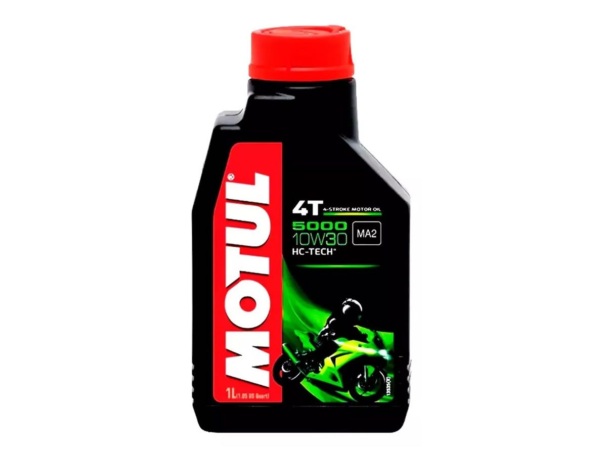 Óleo Motor Motul 10W30 5000 Semi Sintético (1L)  - Manolo Motos