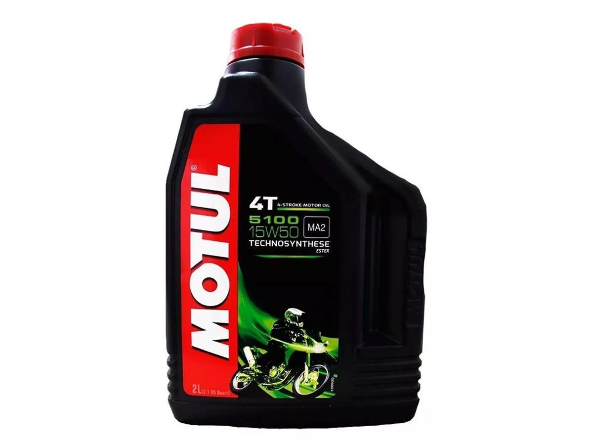 Óleo Motor Motul 15W50 5100 Semi Sintético Ester (2L)  - Manolo Motos