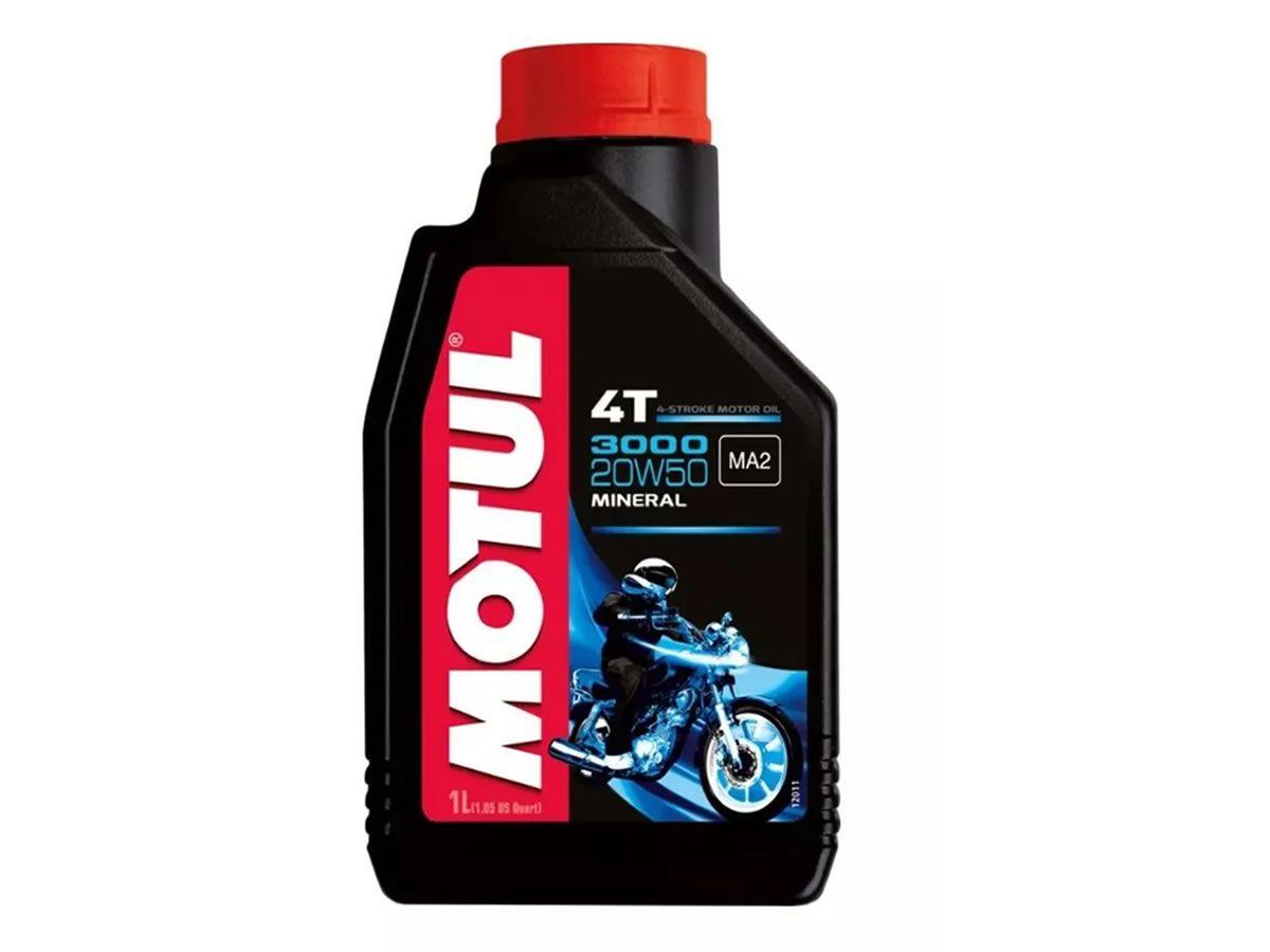 Óleo Motor Motul 20W50 3000 Mineral (1L)  - Manolo Motos