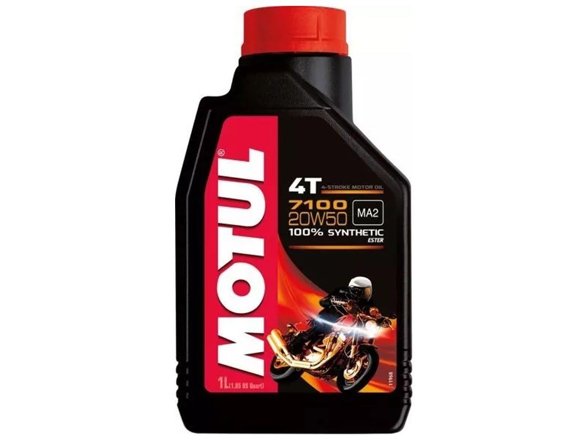 Óleo Motor Motul 20W50 7100 Sintético Ester (1L)  - Manolo Motos