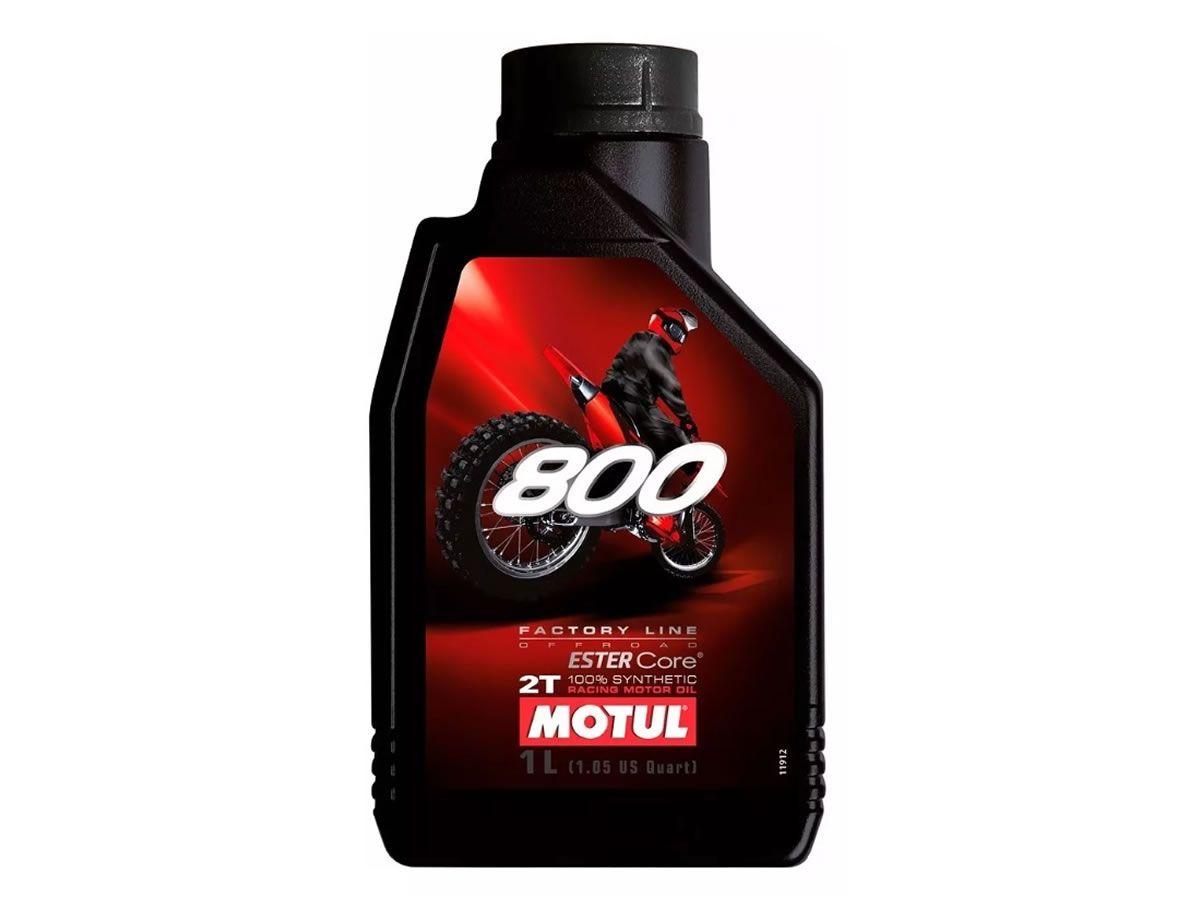 Óleo Motor Motul 2T 800 Sintético (1L)  - Manolo Motos