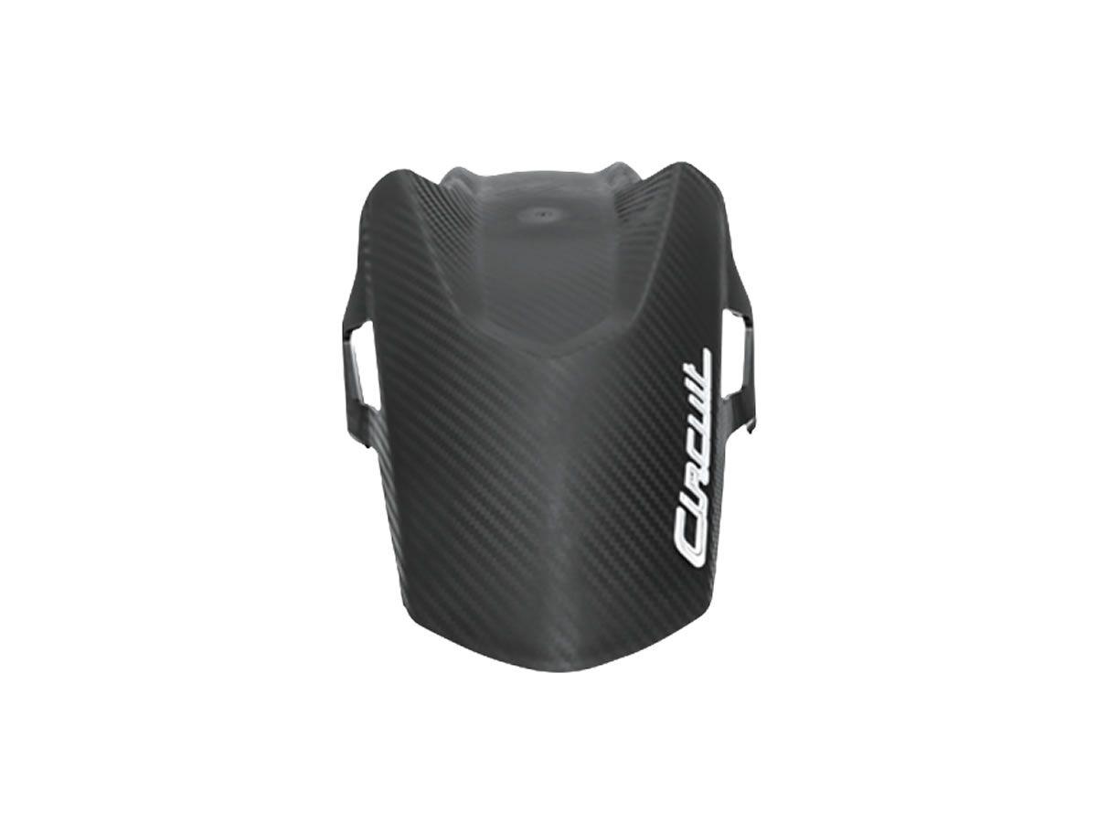 Para-Lama Dianteiro Circuit Tracker Carbon (CG 160 Titan/Fan/Start)  - Manolo Motos