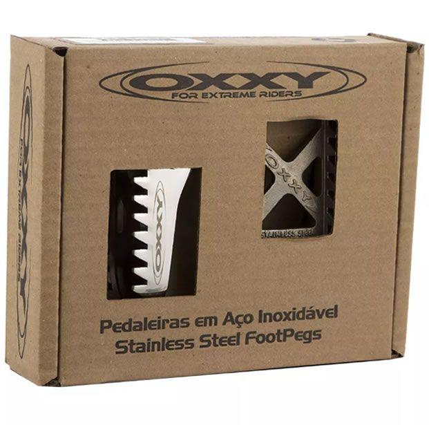 Pedaleira Dianteira Cross Off Road Oxxy CRF230/ Tornado/ XRE300/ Falcon  - Manolo Motos