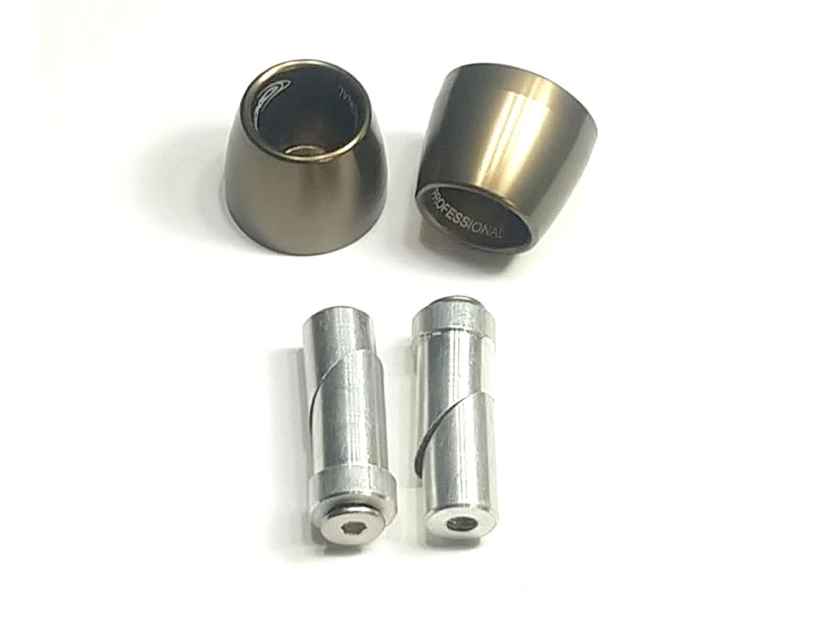 Peso de guidão Oxxy Alumínio Cone (Bronze)  - Manolo Motos