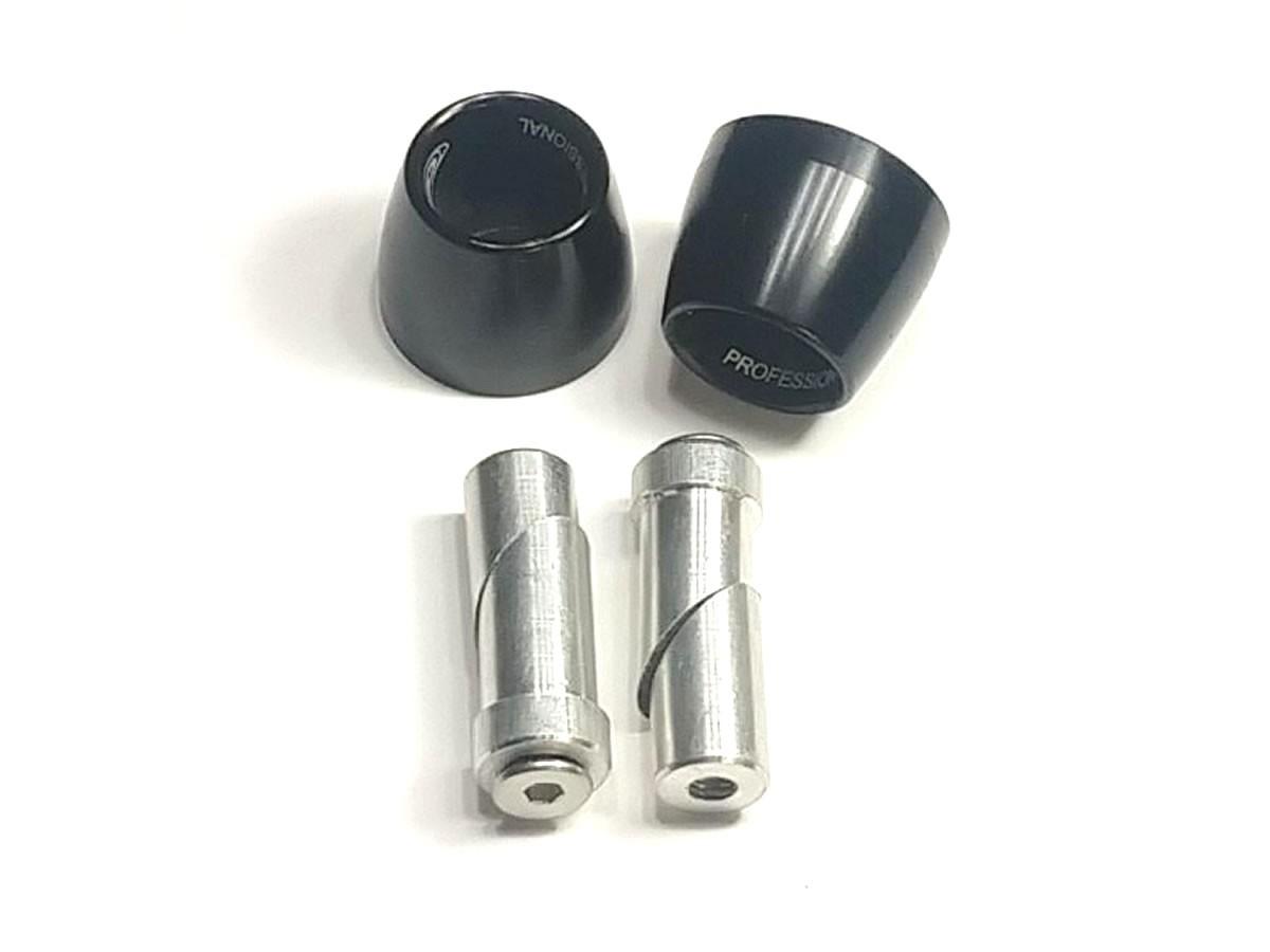 Peso de guidão Oxxy Alumínio Cone (Preto)  - Manolo Motos
