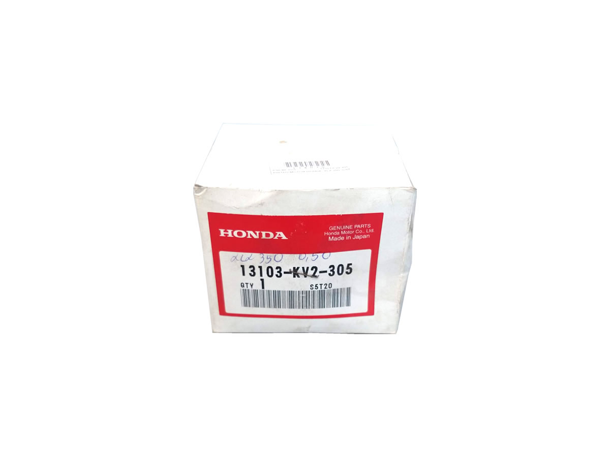 Pistão motor Honda XLX 350 (0.25)  - Manolo Motos