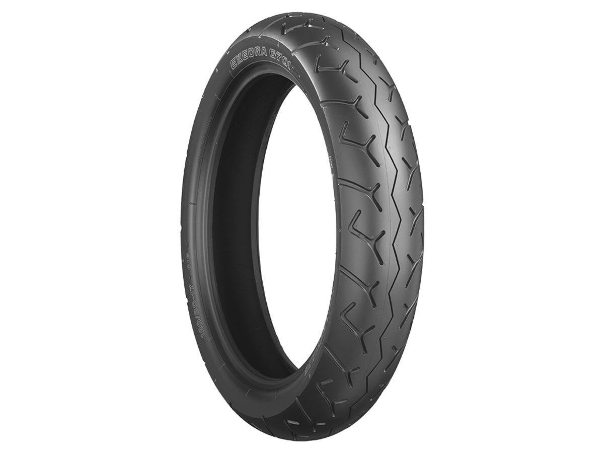 Pneu Bridgestone Dianteiro Exedra G701 90/90-21 54S  - Manolo Motos