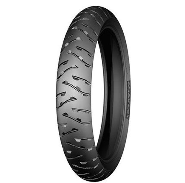 Pneu Michelin Dianteiro Anakee 3 120/70-19 60V  - Manolo Motos
