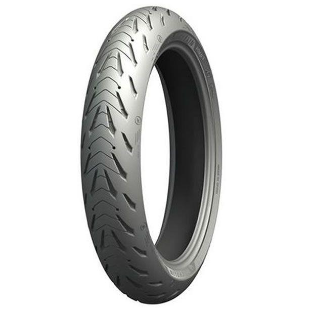 Pneu Michelin Dianteiro Pilot Road 5 120/70 ZR17 (58W)  - Manolo Motos