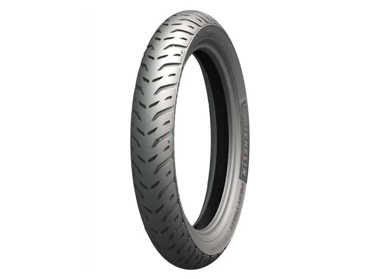 Pneu Michelin Dianteiro Pilot Street 2 60/100-17 33L  - Manolo Motos