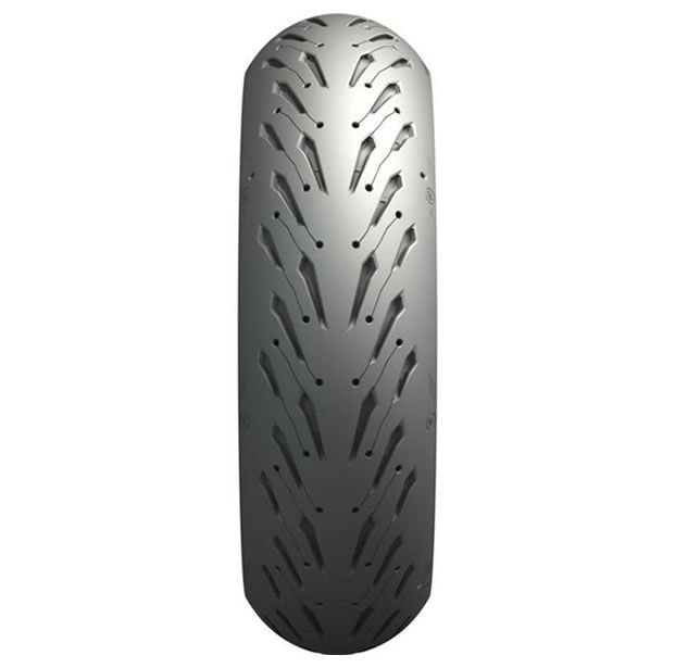 Pneu Michelin Traseiro Pilot Road 5 180/55 ZR17 (73W)  - Manolo Motos