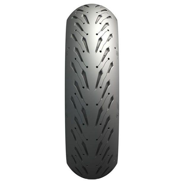 Pneu Michelin Traseiro Pilot Road 5 180/55 ZR17 (73W)  - Manolo Motos