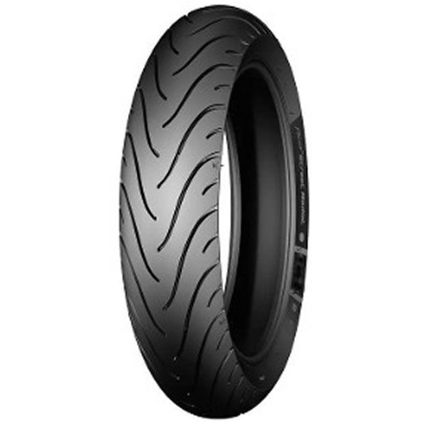 Pneu Michelin Traseiro Pilot Street 80/100-14 49L  - Manolo Motos