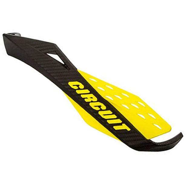 Protetor de Mão para guidão super fat bar  Circuit Fenix Carbono  - Manolo Motos