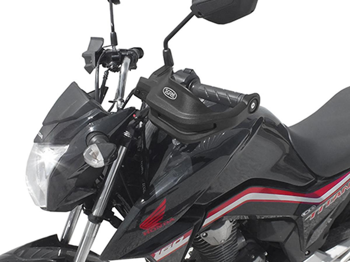 Protetor de Mão Scam para Titan 160/ Fan 160 / Star 160  - Manolo Motos