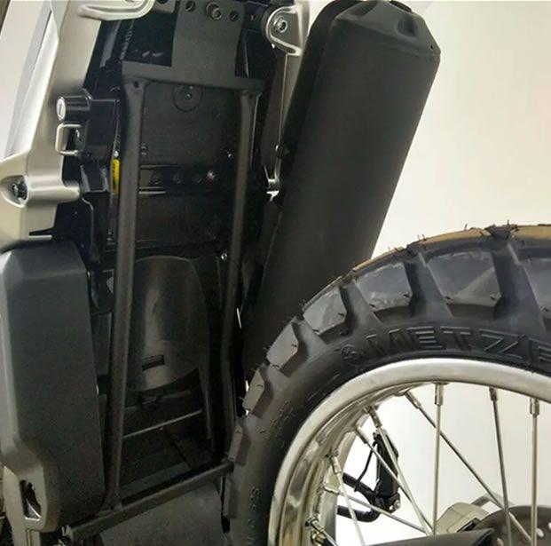 Reforço De Quadro Bráz  Tenere 250  - Manolo Motos