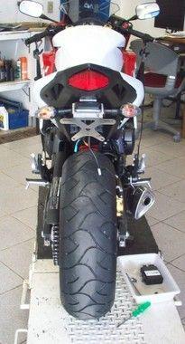Suporte De Placa Oxxy  CB 600 Hornet / CBR 600F / CB1000R   - Manolo Motos