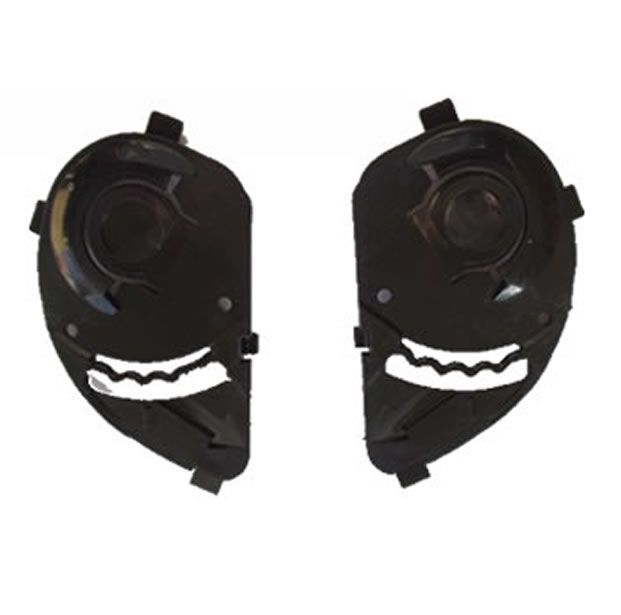 Viseira Cristal + Reparo Fixador Original Peels Spike  - Manolo Motos