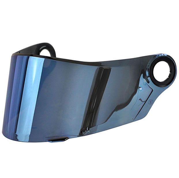 Viseira LS2 Capacete FF358 / FF396 Azul  - Manolo Motos