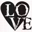 042 - Coração LOVE  - SCRAP GOODIES