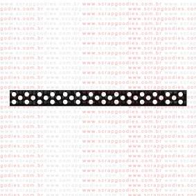 055 - fita de bolinhas  - SCRAP GOODIES