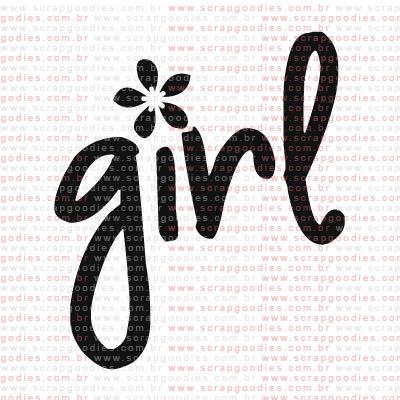 180 - Girl  - SCRAP GOODIES