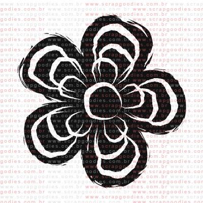 139 - Florzinha negativo  - SCRAP GOODIES