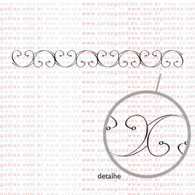 145 - barra clássica  - SCRAP GOODIES