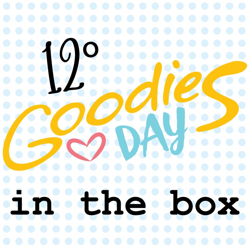 12º GOODIESDAY IN THE BOX - caixa com os projetos, kits e brindes -   - SCRAP GOODIES